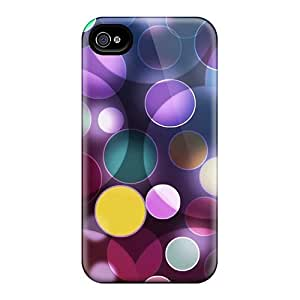 Cute AlexandraWiebe Colorful Circles Cases Covers For Iphone 6
