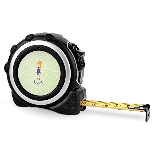 Custom Character (Woman) Tape Measure - 16 Ft (Personalized) by RNK Shops