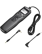 Neewer Shutter Release Timer Remote Control Cord For Canon EOS 550D/Rebel T2i, 450D/XSi, 400D/XTi, 350D/XT, 300D, 60D, 600D, 500D, 1100D, 1000D, 1D, 1D Mark II, 1D Mark II N, 1D Mark III, 1Ds, 1Ds Mark II, 1Ds Mark III, 10D, 20D, 30D, 40D, 50D, EOS Film SLR EOS 1V 1VHS 3