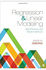 Regression & Linear Modeling: Best Practices and Modern Methods Hardcover