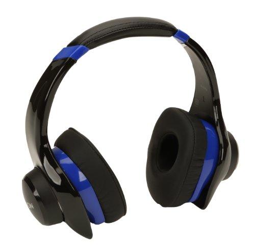 Denon AH-D320BU Urban Raver On-Ear Headphones (Blue) (Denon On Ear Headphones)