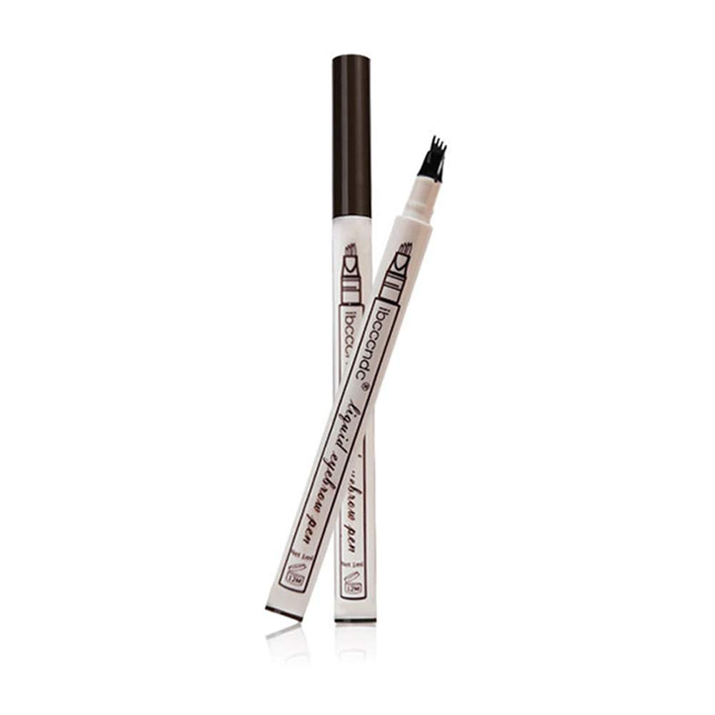 YaptheS Tattoo Eyebrow Pen Waterproof Ink Gel Tint Long Lasting Smudge-Proof Natural Hair-Like Defined Brows All Day (Chestnut) Beauty Tools