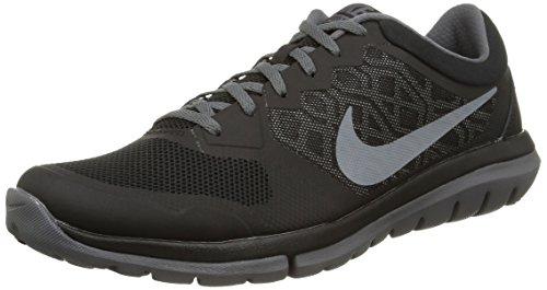 Nike Flex Experience RN 4 Laufschuh Schwarz / Dunkelgrau / Cool Grey