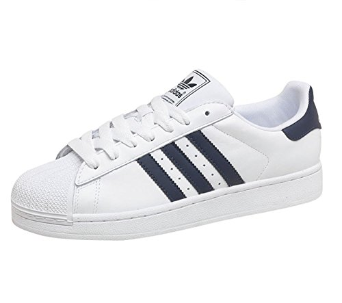 Adidas Originals Superstar 2 Mens Trainers White/Navy Size 11 UK lowest price for sale 9MxbJzA