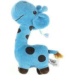 SMTSMT Giraffe Dear Soft Plush Toy Animal Dolls Baby Kid Birthday Party Gift-Blue