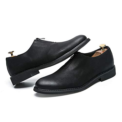 classiche Scarpe Dimensione inglesi uomo lavoro Nero 42 in shoes Jiuyue da Oxford da da classiche uomo Uomo Scarpe 2018 Color Nero EU Pelle traspiranti qEwnRfv