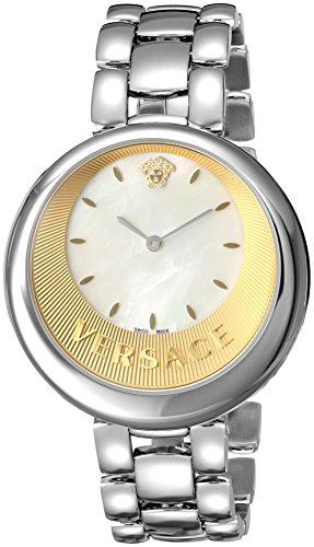 Versace-Womens-PERPETUELLE-Swiss-Quartz-Stainless-Steel-Casual-Watch-ColorSilver-Toned-Model-VAQ070016