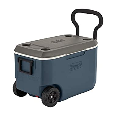 Coleman 62-Quart Xtreme 5-Day Heavy-Duty Cooler with Wheels - Slate