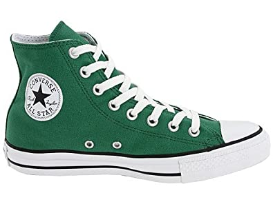 329635600a2c Image Unavailable. Image not available for. Color  Converse Chuck Taylor  All Star Hi Top Pine Green Canvas Shoes men s 3  women s 5