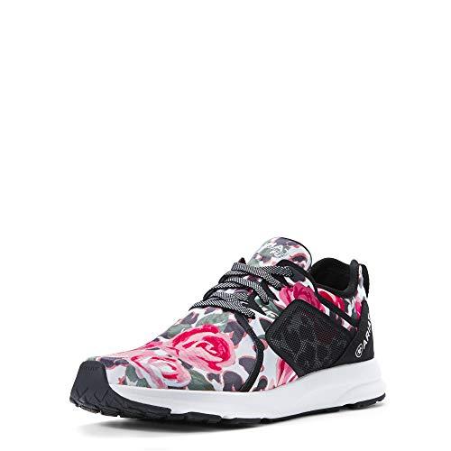 Leopard Roses - ARIAT Women's Fuse Leopard Roses Size 8 B/Medium Us