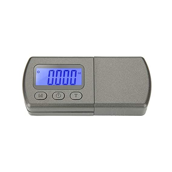 Digital Turntable Stylus Force Scale Gauge Tester, Vinyl Record Professional Portable Stylus Force Scale Digital