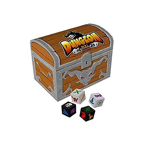 Dungeon Roll Juego De Mesa Edge Entertainment Edgdr01 Amazon Es