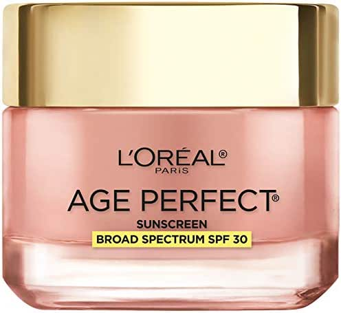 Facial Moisturizer: L'Oreal Paris Age Perfect Cell Renewal Rosy Tone Cream with Sunscreen