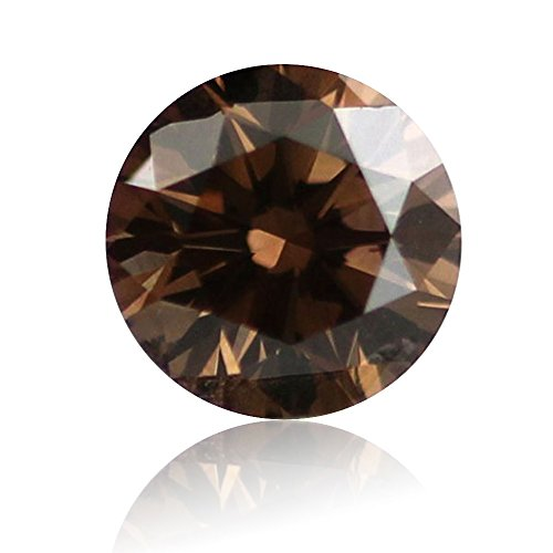 AFFY 2.4MM (0.05 Ct) Single Loose Brown Natural Diamond I3