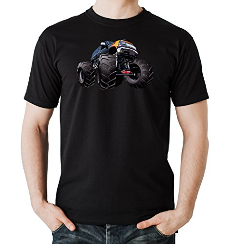 Monstertruck T-Shirt Black Certified Freak