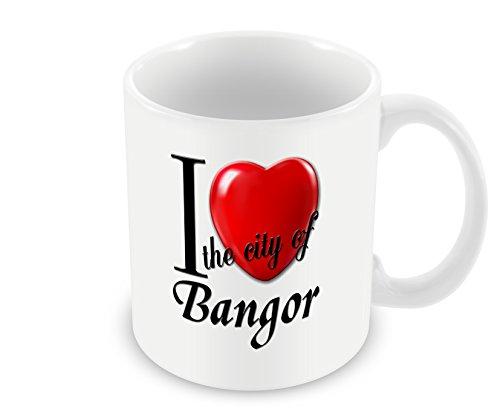 Party Store Bangor (Chalkhill Printing Company CP CitiesUK_03 Mug-I Love The City of)