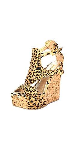 French Kiss Kvinners Mote Hæler Leopard