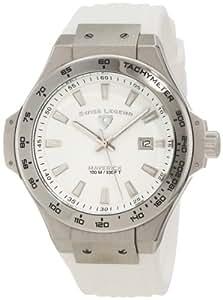 Swiss Legend Men's 40052-02 Maverick White Dial Watch