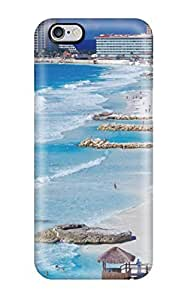 CaseyKBrown Snap On Hard Case Cover Cancun Shoreline Mexico Protector For Iphone 6 Plus