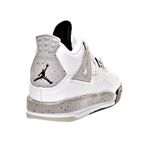 m black fire úcement Retro 4 308499 Red Us matte Kid's White Jordan ñ D Shoes Bp Silver Little 104 3 1UzwtxRqP