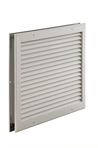 Air Conditioning Products (ACP) ADL 8x8 Aluminum Door Louver, 8