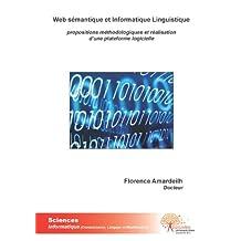 Web Sémantique et Informatique Linguistique