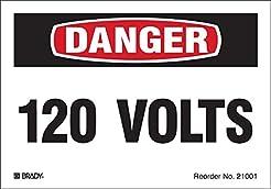 Brady 21001LS Conduit and Voltage Labels...