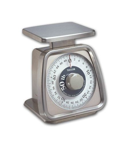 Taylor Precision Products Stainless Steel Analog Portion Control Scale - Restraunt Equipment