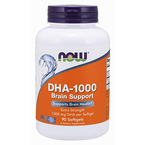 Now Supplements Dha 1000 mg Brain Support, softgels, 90 Count