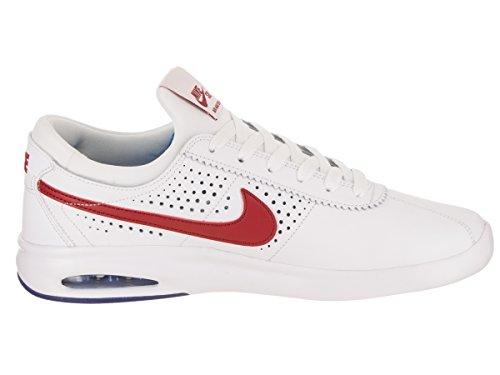 Nike Mens Sb Air Max Bruin Damp Skate Schoen Wit / Sportzaal Rood Spel Royal
