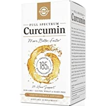 Curcumin 185x 40 mg Solgar 60 Softgel (90 softgels)