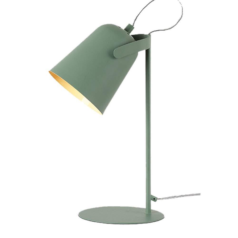 DDLONY Nachttischlampe Nachtlicht Nordic Minimalistische Leselampe Schlafzimmer Wohnzimmer Couchtisch Büro 110-220V E27