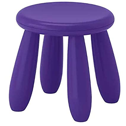 Mammut - IKEA - Childrens IKEA Stool Indoor/Outdoor Purple