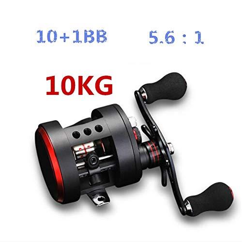 Lanlan Fishing Reel Metal Fishing Reel High Strength Drum Reel Trolling Wheel Bait Casting Lure Reel Sea Fishing Tool