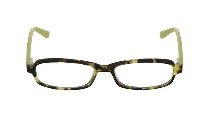 b3fc0c313653 Flutter Women s Hester Sage Wasabi clear Lens rectangle 51MM Glasses 2  Strength