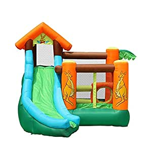 Dfghbnbaby Inflable Castillo Hinchable Camas elásticas for ...