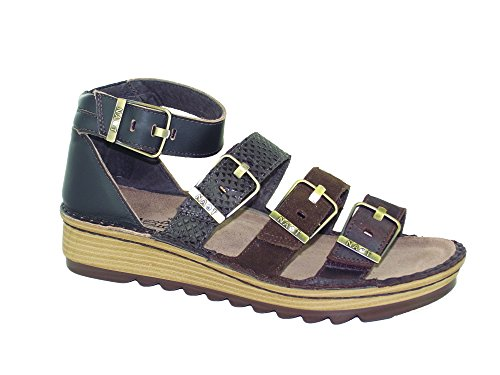 Mine Croc Ankle Women's brown Hash Strap Sandals Brown Begonia Brown Volcanic Naot RzOqxw7Xz