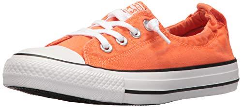 Converse Chuck Taylor All Star Shoreline Wild Mango White Black Lace-Up Sneaker - 5 B(M) US (Women For Orange Converse)