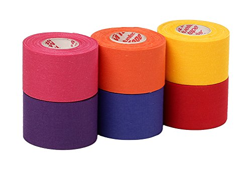 Mueller Athletic Tape Sports Tape, Bright Mix 6 rolls – DiZiSports Store