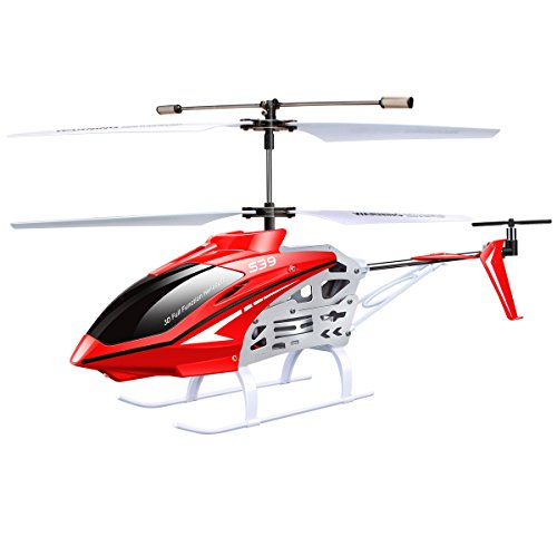 Syma S39 RC Helicopter with GYRO Toy 2.4G 3Channel, Red