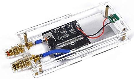 Ladieshow Mini soldadora por puntos port/átil DIY transistor soldador por puntos con bol/ígrafo de soldadura bater/ía de litio 18650 para condensador