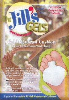 Jills Gel Metatarsal Cushion - Dr. Jills All Gel Metatarsal Cushion