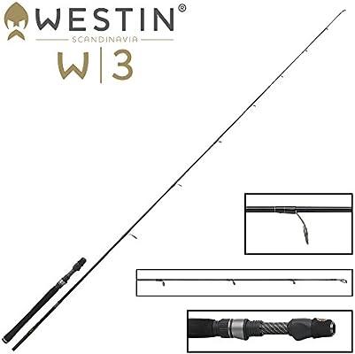 W3 Power Stick H 210 cm 15 – 50 g – Caña de Spinning para Pesca de ...