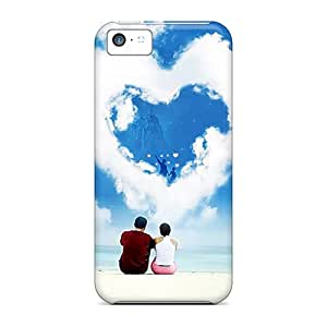 Anw3410kZTA Snap On Case Cover Skin For Iphone 5c(love)