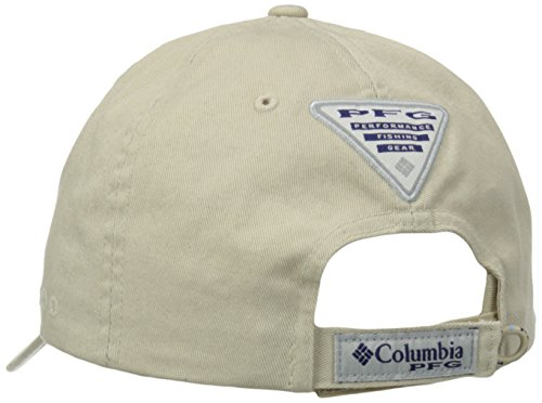 Columbia Unisex s PFG Bonehead Ball Cap-Vivid Blue White 21b57812f07