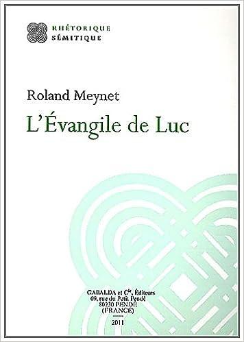 Téléchargement L'Evangile de Luc epub, pdf