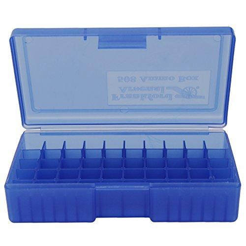 - Frankford Arsenal 10mm 45 ACP 50 Count Ammo Box, Blue