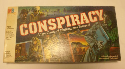 Conspiracy a Spy Game of Bluffing and Betrayal (Bluffing Game)