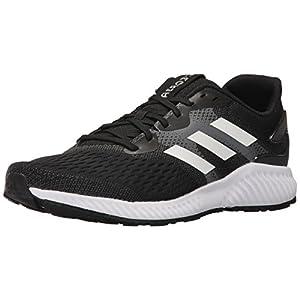adidas Originals Men's Aerobounce m Running Shoe, Black/White/White, 11 Medium US
