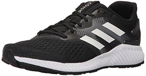 running M Aerobounce pour homme noir Noir Blanc de noir Chaussures adidas TOIwxcF5qq